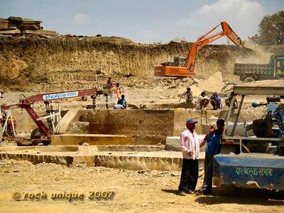crane in quarry